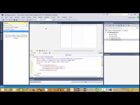 Visual Basic.NET WPF Tutorial - Getting Started and Creating Your First Application