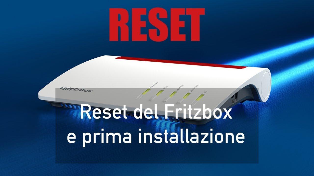 Fritzbox 7490 Reset Tool
