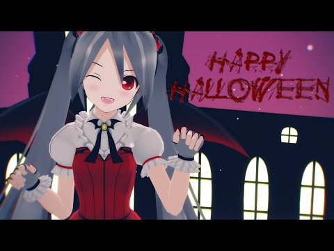 [MMD] Happy Halloween - Hatsune Miku