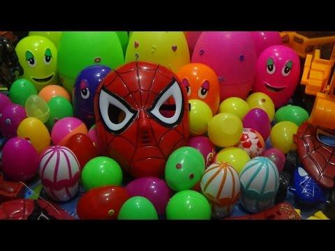 Surprise Eggs ►Giant Surprise Eggs ► Kis Toy's ► 60 Surprise Eggs