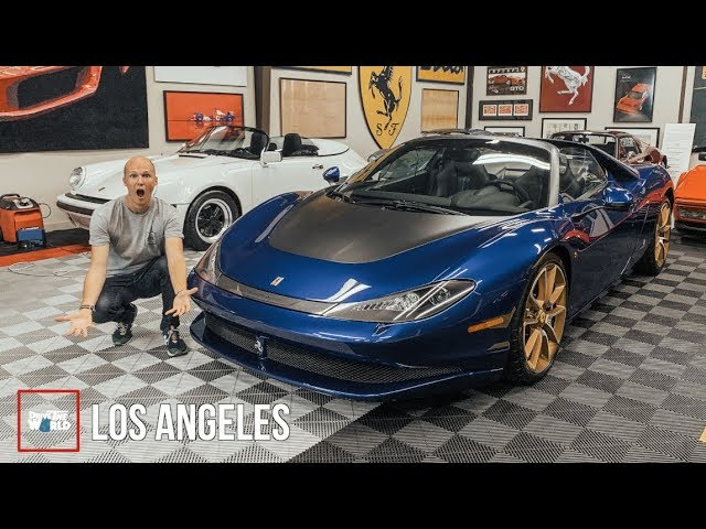 Finding Rare $5million Ferrari Sergio! [1 of 6 Ever Made]