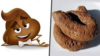 The Emoji Movie in Real Life! Main Characters
