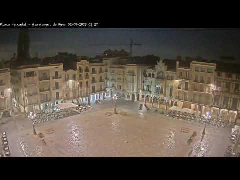 Webcam Plaça Mercadal - Ajuntament de Reus