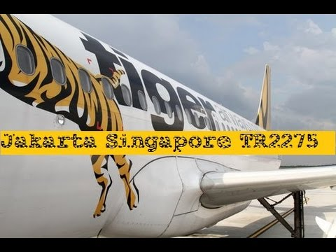 Day - 1 Jakarta Singapore Tiger Air TR2275