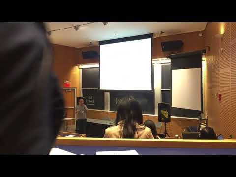One Game Presentation in MIT Stata Center