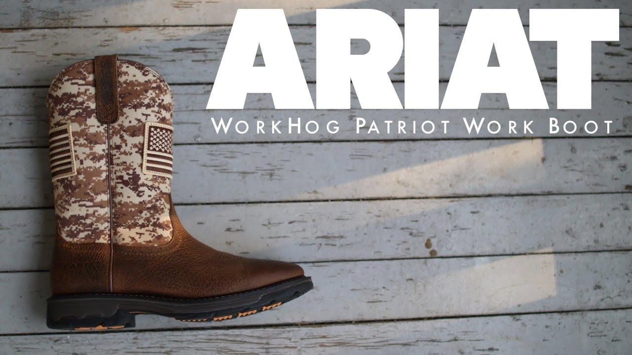 ARIAT WorkHog Patriot Work Boot   The
