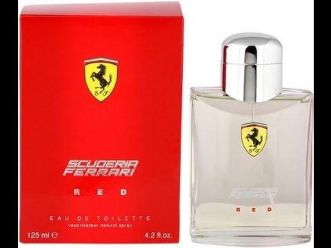 025be86864 ferrari scuderia Red EDT best men fragrances - YouTube