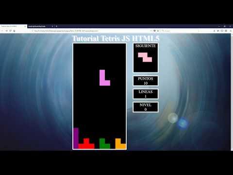 Parte 1 - Como Crear Un Tetris Html Y Javascript