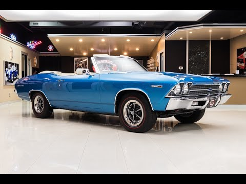 1969 Chevrolet Chevelle Malibu Convertible For Sale