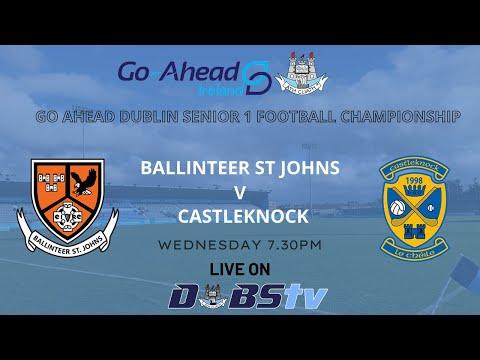 SFC 1 - Ballinteer St Johns v Castleknock