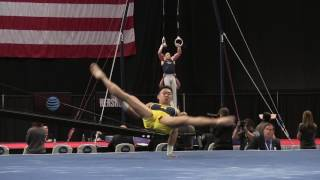 Adrian De Los Angeles - Floor Exercise - 2016 P&G Championships - Sr. Men Day 1