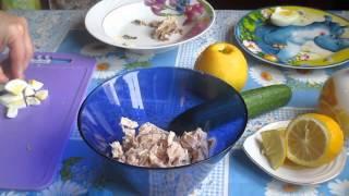 """Салат """"Весенний день"""" минимум калорий максимум пользы"""
