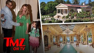 Jay and Bey Continue to Couch Surf | TMZ TV