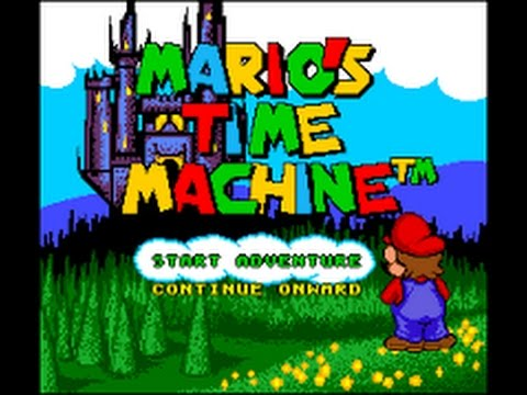 Mario's Time Machine - SNES - 1993
