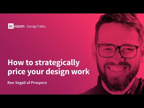 DesignTalk Ep. 62: How to strategically price your design work with Ran Segall