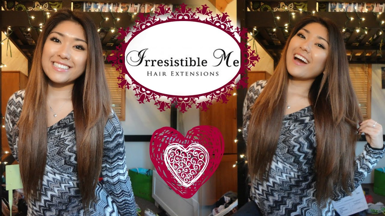 Irresistible Me Hair Extensions Youtube