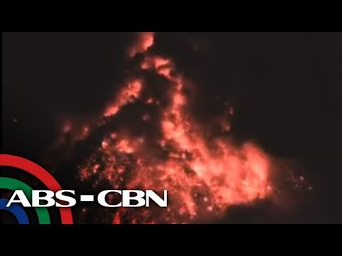 WATCH: Mayon Volcano spews lava anew