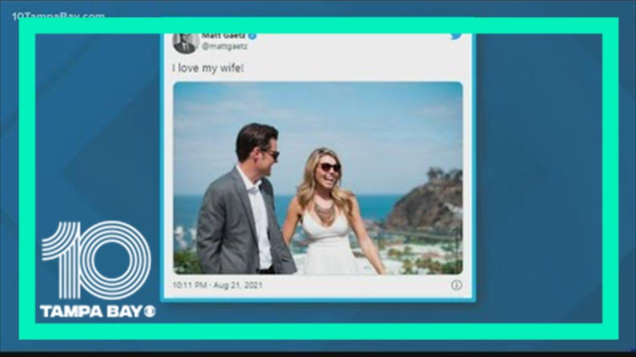 Florida Congressman Matt Gaetz Marries Fiancee In Small Ceremony