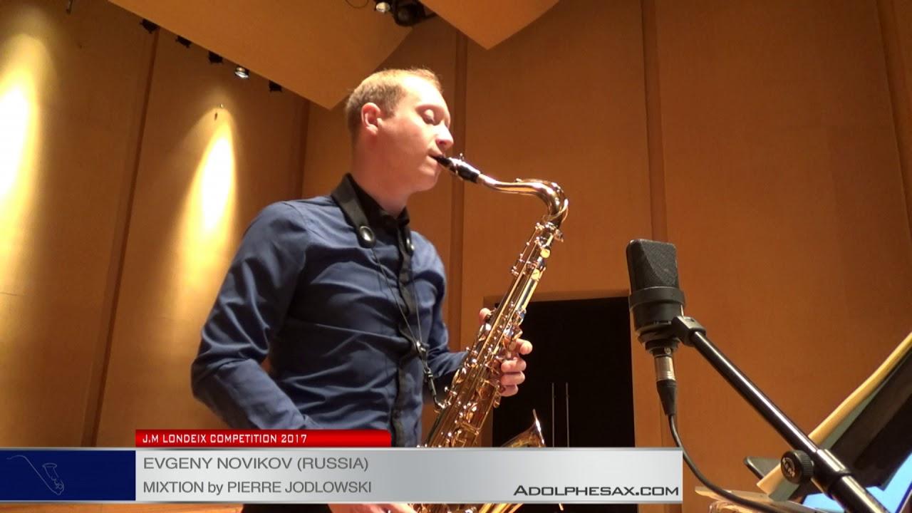 Londeix 2017 - Semifinal - Evgeny Novikov (Russia) - Mixtion by Pierre Jodlowski