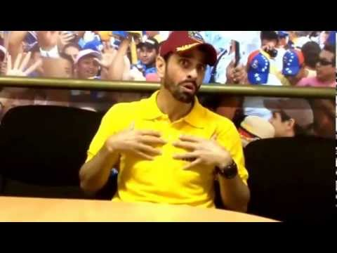 Entrevista a Henrique Capriles Radonski