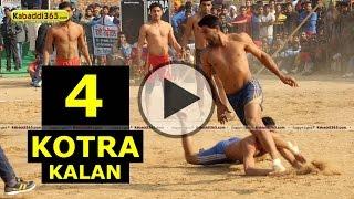 Kotra Kalan (Mansa) Kabaddi Tournament 30 Dec 2014 Part 4 by Kabaddi365.com