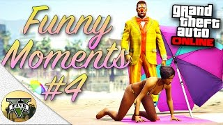 GTA 5 Funny Moments #4 (Fails and Random Gameplay Moments)