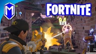 Fortnite - Searching For Resources And Building Defences - Let's Play Fortnite Gameplay Ep 1