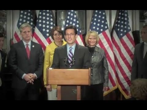 Majority Leader Eric Cantor: President Barack Obama Has Failed To Show Leadership On The Budget