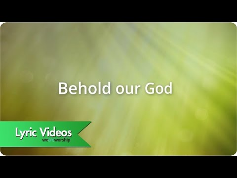 behold our god lyrics pdf