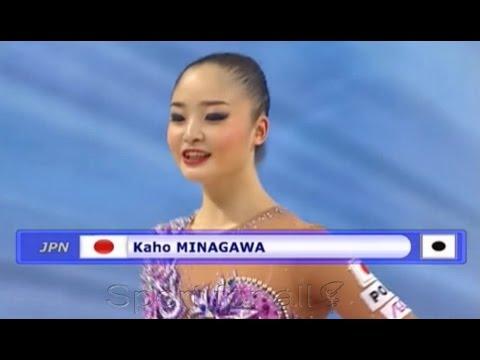 KAHO Minagawa 新体操 ボール
