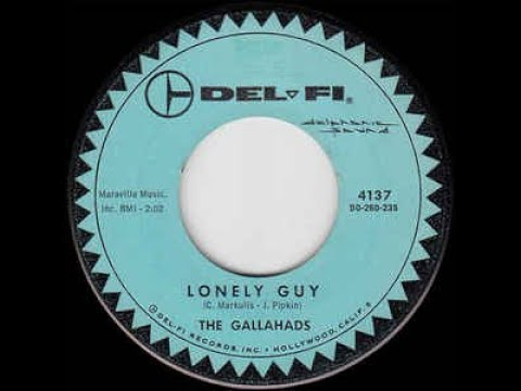 The Gallahads - Lonely Guy 1960