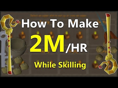 How to Casually Merch And Make 2M In A little Over 1 HOUR While Skilling/Slaying