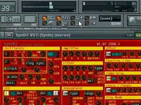 Synth1 sounds demo