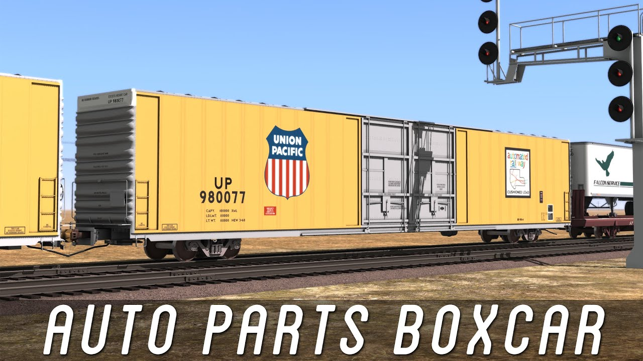Parts Of A Train Car