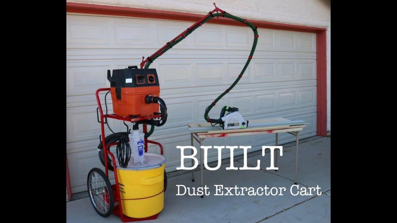 DIY Dust Collector Cart