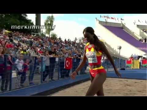 Spanish Gymnast Performs Floor Routine Funnycat