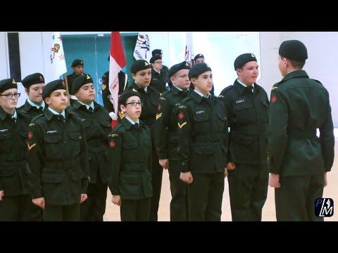 Cadets 3042 Ste-Julienne   Cérémonie annuelle de graduation 2016