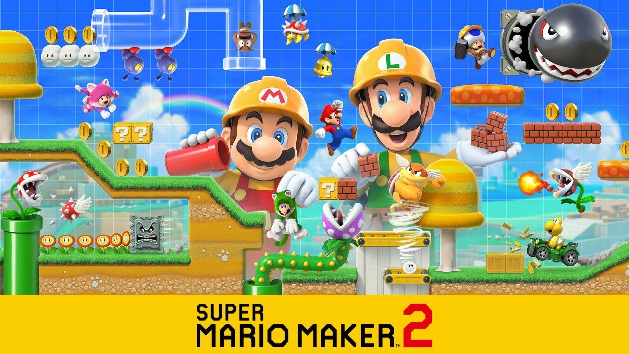 LATE NIGHT STREAM FUN! | SUPER MARIO MAKER 2