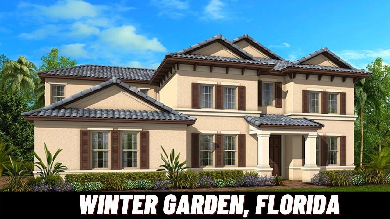 NEW HOMES IN WINTER GARDEN, FLORIDA   Treviso Model   Jones Group Real Estate