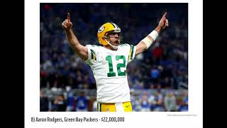 Top 10 Highest Paid NFL Players 2017 [SPORTS]