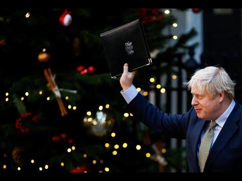 الانتخابات التشريعية البريطانية: جونسون يحتفل بفوزه في معاقل حزب العمال انحازت للمحافظين  - 14:00-2019 / 12 / 14
