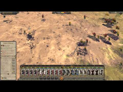 Total war Attila Battle western Roman Empire VS Saxsons |
