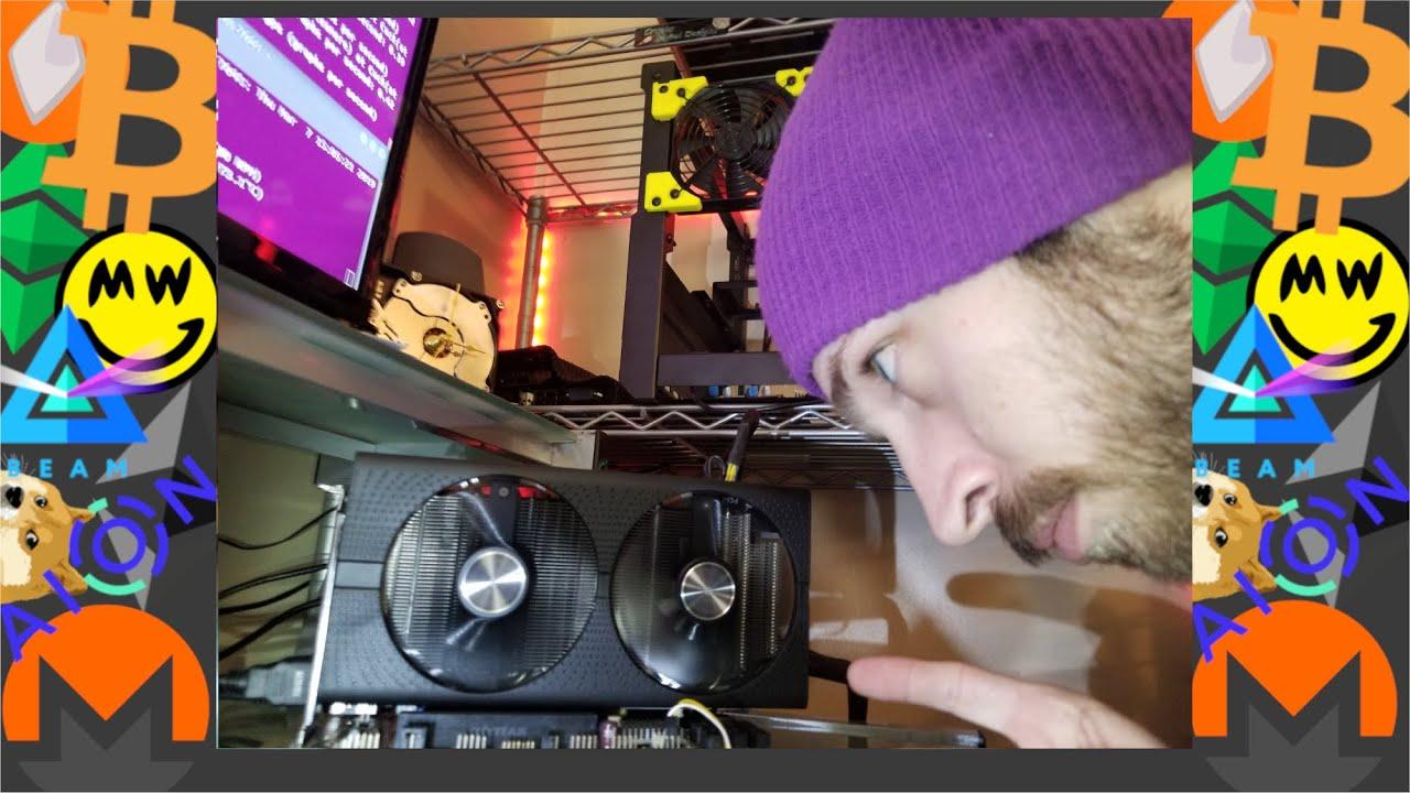 Sapphire Rx570 16GB Update -- Now It's Mining Cuckatoo31!