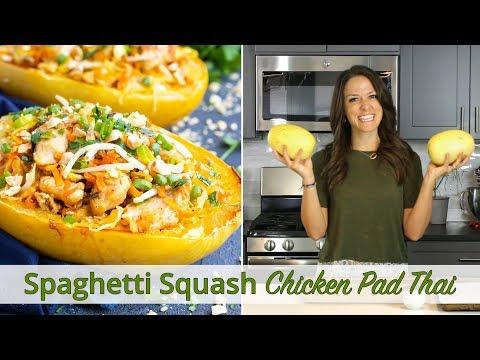Спагетти Сквош Chicken Pad Thai | С низким содержанием углеводов