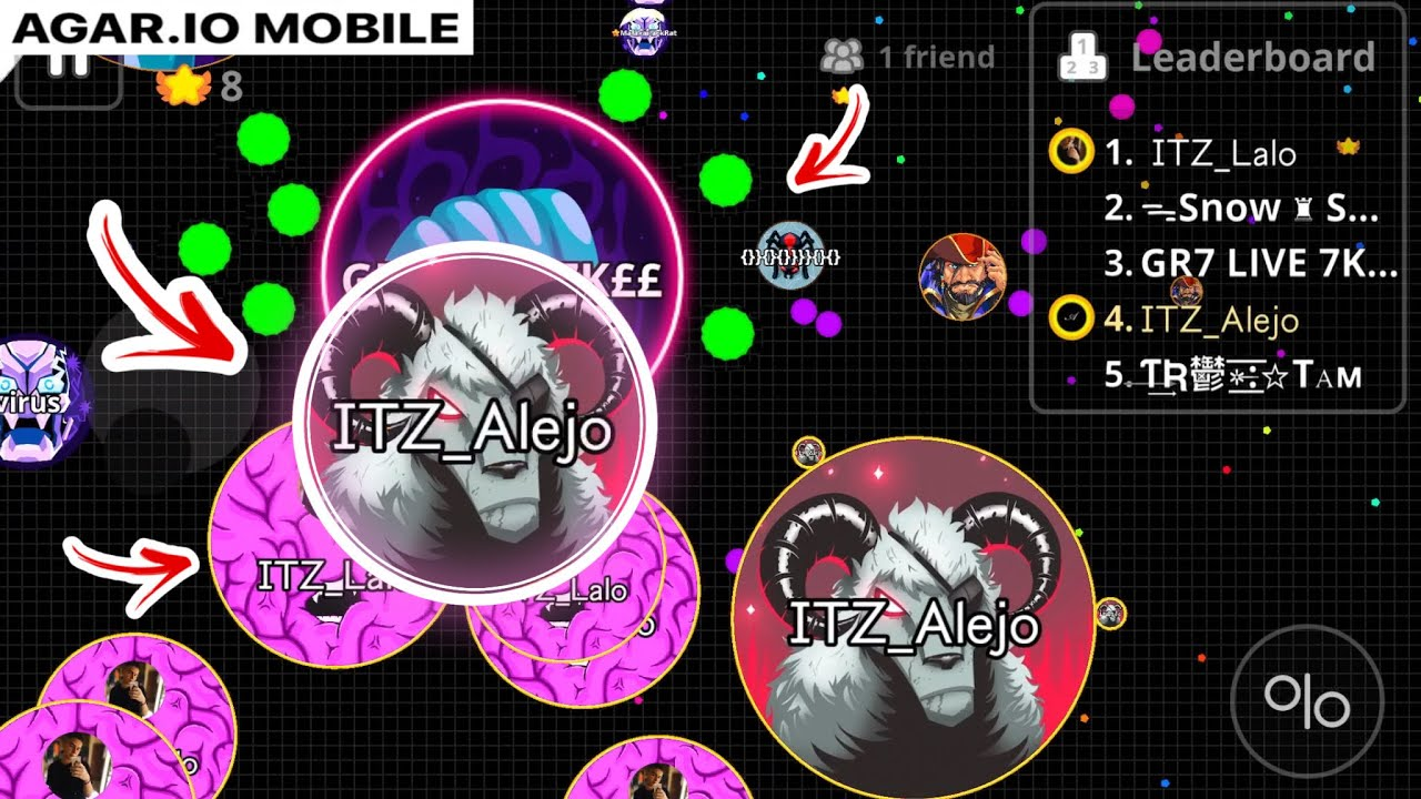 AGARIO MOBILE - INSANE DUO TAKEOVER!! (Agar.io mobile Gameplay) EPIC BEST MOMENTS - YouTube