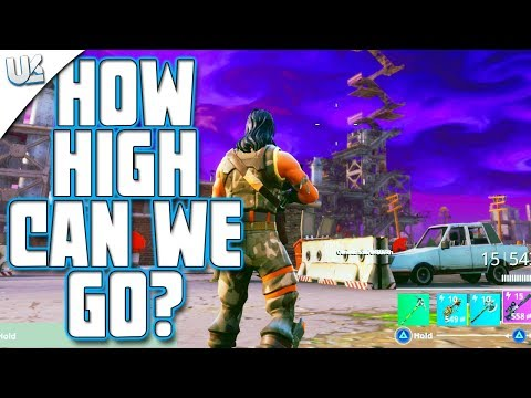 How High Up Can You Build In Fortnite | Highest Point In Fortnite