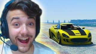 HOLA NIEVE!! - CARRERA GTA V ONLINE - GTA 5 ONLINE