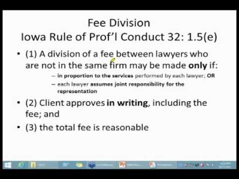 IA Ethics Opinion 13-05 Co-Counsel Relationships