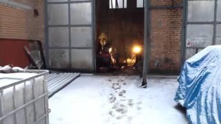 Бурение скважины малогабаритной установкой в гараже(Скважина на известняк Бурок.рф., 2016-02-28T00:30:01.000Z)