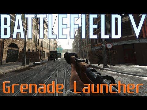 Battlefield V Grenade Launcher on Rotterdam